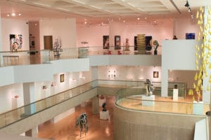 The Palm Springs Art Museum is one of the top museums to visit in Palm Springs This Fall