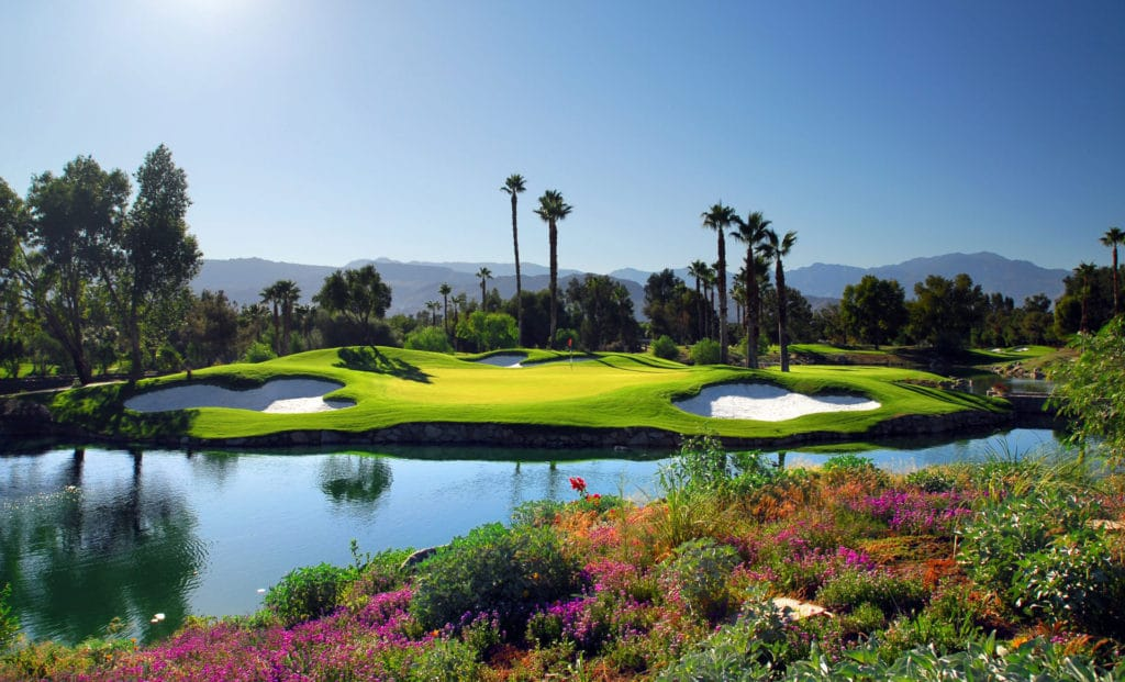 Indian Wells is one of the top Palm Springs Golf Courses.